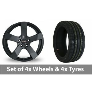 4-x-19-034-Dezent-TD-Black-Alloy-Wheel-Rims-and-Tyres-245-35-19