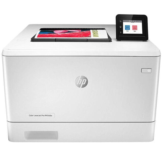 HP Color LaserJet Pro M454dw Farblaserdrucker, Farbdrucker, WLAN, LAN, USB