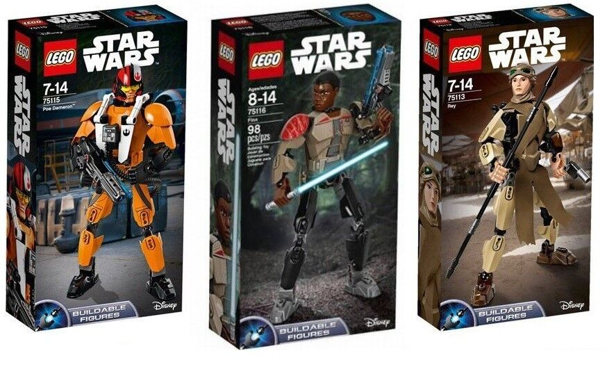 LEGO® Lot of of of 3 Buildable Figures Star Wars 75113 75115 75116 - FACTORY SEALED 8dab2f