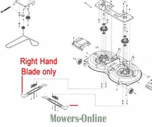 AL-KO Tractor Right Hand Blade 473603 R//H T23-125 Solo Powerline
