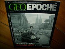 Geo Epoche Nr.9 Deutschland nach dem Krieg 1945 - 1955