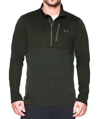 Men's Clothing Bright Under Armour Men's Artillery Green/downtown Green Ua Gamutlite 1/2 Zip Shirt S Clothing, Shoes & Accessories