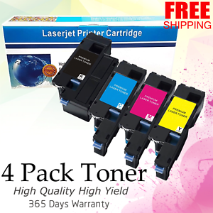 4-Pack-Toner-Cartridge-Set-for-Dell-E525w-E525-593-BBJX-DPV4T-H3M8P-Printer