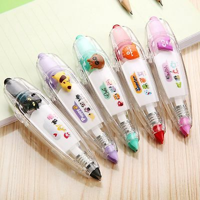 Colorful Material Tape Stationery Correction Supplies Gift Korean 00202 School