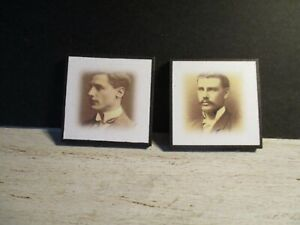 2 Maison De Poupées Miniature Victorian Photographies Saw8-afficher Le Titre D'origine