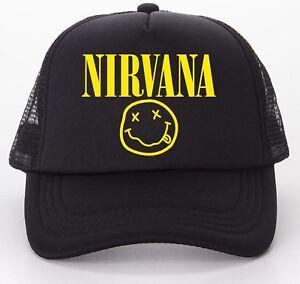Nirvana-Baseball-Trucker-Cap