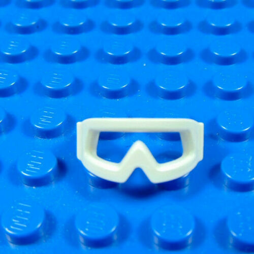LEGO-MINIFIGURES SERIES X 1 WHITE GOGGLES FOR THE SNOWBOARDER FROM SERIES 3 3