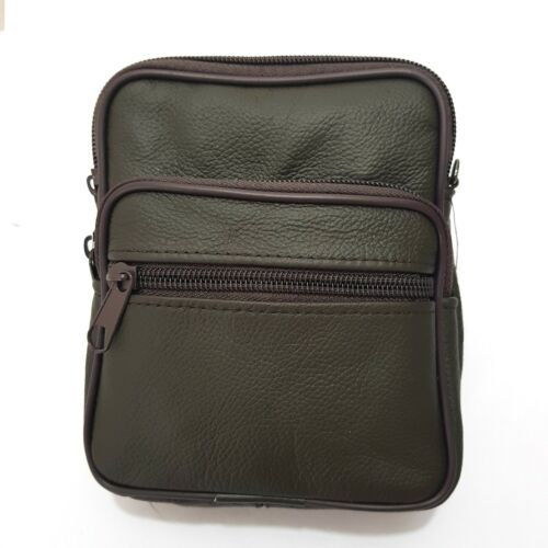 Leather Shoulder Bag Waist Bag Fanny Pack Messenger Travel Bag Camera Bag