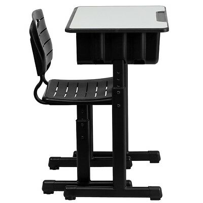 Outstanding Adjustable Student Desk Chair Black Storage Kids Laptop Childrens Small School 847254082235 Ebay Pabps2019 Chair Design Images Pabps2019Com