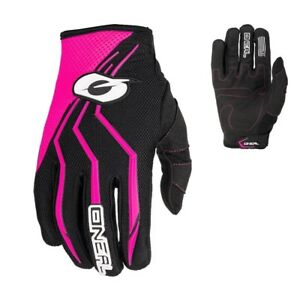 Oneal-Elemento-Women-Guanti-Donna-Girls-Mx-Enduro-Motocross-Guanti-Fucsia
