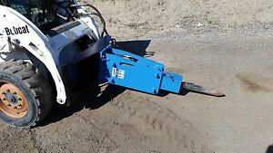 Details about **NEW** Skid Steer Hydraulic Breakers- 750 FT LB