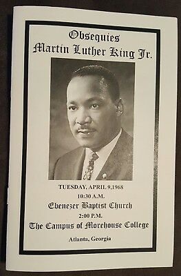DR. MARTIN LUTHER KING JR OBITUARY FUNERAL @ EBENEZER ...