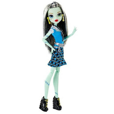 Monster High Daughter of Frankenstein Doll - Frankie Stein