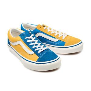 601f0193651 Vans Japan Line Old Skool V36OG BLGDMI Blue Yellow Gold Multi