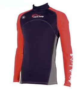 Aqualung-REDNIGHT-Lang-RASH-GUARD-UV-Shirt-Herren-Langarm-RASHGUARD-RED-NIGHT