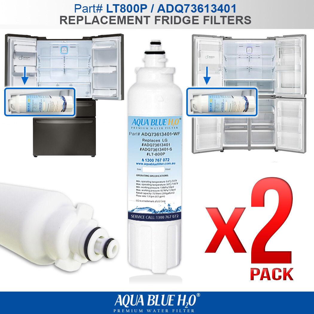 2X Aquaport AQP-FF20A Fridge Water Filter ORIGINAL FROM ECO AQUA NSF