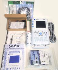 Sonosite 180 Plus Ultrasound System Remanufactured En Espanolin Spanish In Box