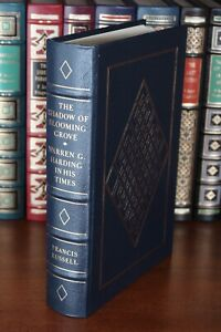 Easton-Press-THE-SHADOW-OF-BLOOMING-GROVE-Warren-G-Harding-In-His-Times-Leather