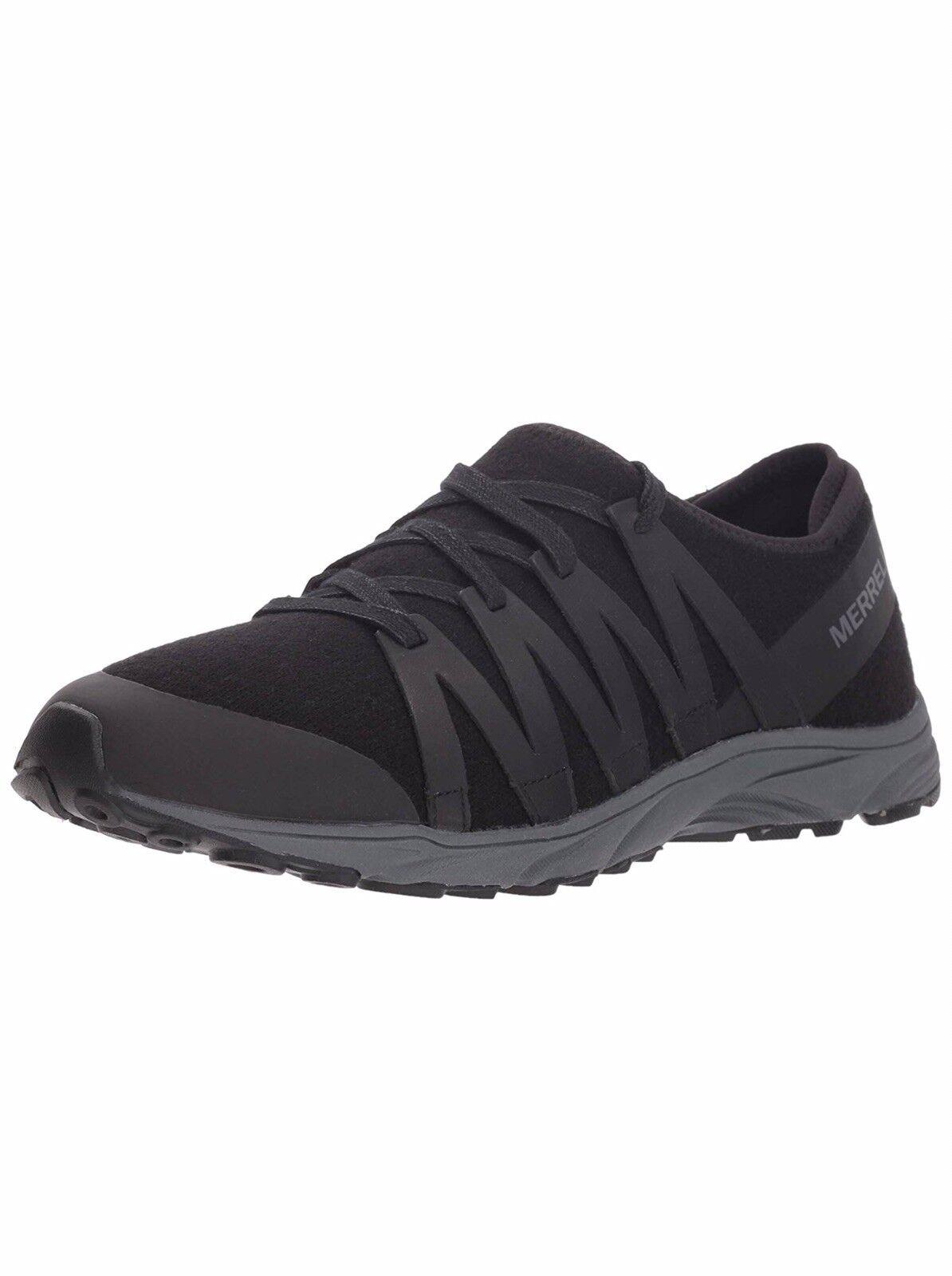 b8573666c5a MERRELL Women's Riveter Wool Sneaker, Black US US US Size 10.5 ...