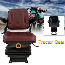 Lawn Garden Tractor Seat Suspension Seat Forklift Seat With Sliding Track Armrest
