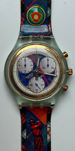 SWATCH UHR CHRONO HOLE IN ONE SCG106 - KULT