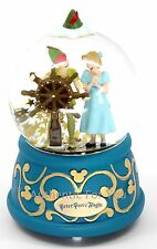 NEW Disney Parks Peter Pan's Flight with Wendy Musical Snow Globe Snowglobe