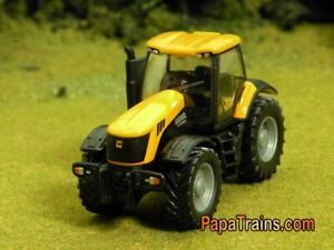 Die-Cast-Yellowish-Orange-JCB-8250-Farm-Tractor-HO-Scale-1-87-by-Siku
