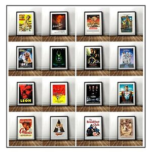 Classic-Movie-Posters-A4-A3-Various-Designs