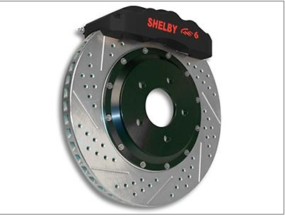 05 Ford Mustang Shelby GT500//GT500KR OE Replacement Rotors w//Metallic Pads R