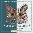 Woodland Creatures Night & Day Colouring Book by Carlton Books Ltd (Paperback, 2016)