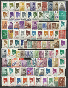 INDONESIA STAMP COLLECTION PACKET of 100 DIFFERENT NICE SELECTION