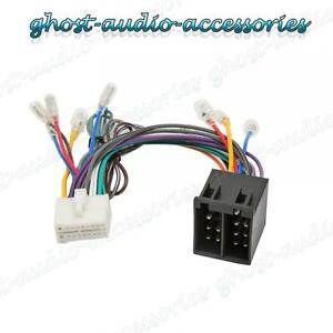 clarion nx iso wiring harness connector adaptor car stereo radio rh ebay com Clarion Wiring Harness Diagram Clarion Stereo Wiring Harness
