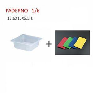 Paderno Sambonet Coperchio polipropilene per bacinella gastronorm  GN 1//6