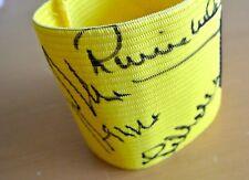 LIVERPOOL Multi Signed Captains Armband Autograph x5 Beardsley Smith PROOF & COA