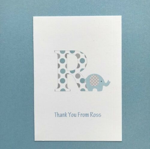 Postcard Girls Birthday Boys Childrens 10 Personalised Thank You Cards