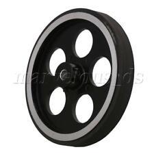 Yibuy Aluminum Silicone Encoder Wheel Meter Wheel for Rotary Encoder 50x6mm