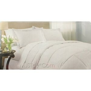 indoor weather down alternative white cotton lightweight. Black Bedroom Furniture Sets. Home Design Ideas