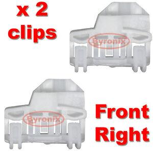 VW-PASSAT-WINDOW-REGULATOR-CLIPS-FRONT-RIGHT-Drivers-Side-on-RHD