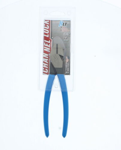 Channellock E337 E Series 7 Inch Diagonal Cutting Pliers with Lap XLT Joint