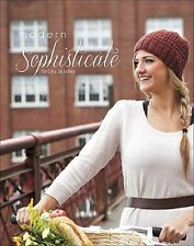 MODERN SOPHISTICATE KNITTING PATTERN BOOK - GREAT DESIGNS - NEW- SALE!