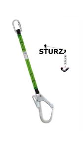 Halteband 1,5m Halteseil Absturzsicherung EN354 Gerüst Fallschutz Baumpflege
