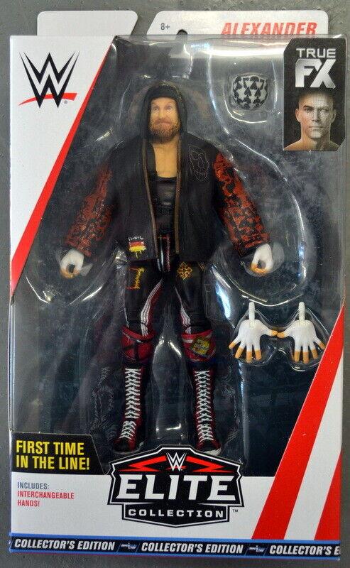 Sellado de fábrica 2018 WWE lucha libre Alexander Wolfe MATTEL ELITE figura menta en caja