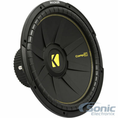 "KICKER CompC CWCS154 2400W 15/"" Single 4-Ohm Car Subwoofers 2"