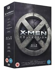 The X-Men Movie Collection: 8 Film Box Set | Hugh Jackman | New | Sealed | DVD