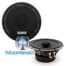 "SUNDOWN AUDIO SA-5.25 CX 5.25"" 50W RMS 2-WAY SILK TWEETERS COAXIAL SPEAKERS NEW"