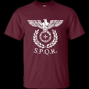 Roman Emblem SPQR Caesar Rome Senate Republic Eagle ...