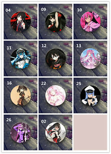 Anime Akame ga KILL double two sided hugging Pillow Case Cover 68