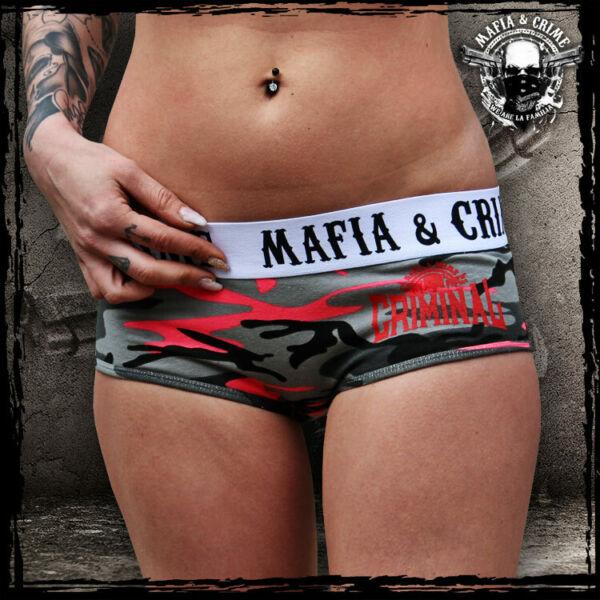 473 Mafia and Crime Damen,Criminal, Hot Pants, Unterwäsche