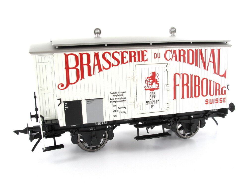 MTH 20-90905g carri merci Carro Birra Brasserie du Cardinal traccia 0