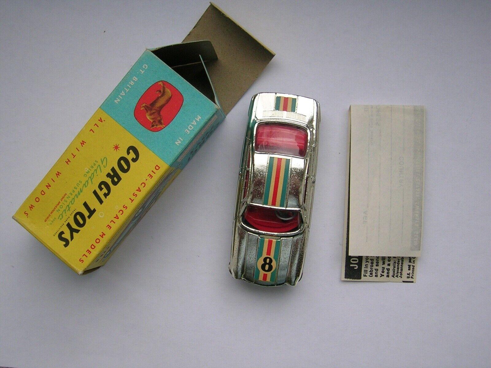 Corgi Toys 315 Simca Sports Competition,FREE INTL.SHIPPING